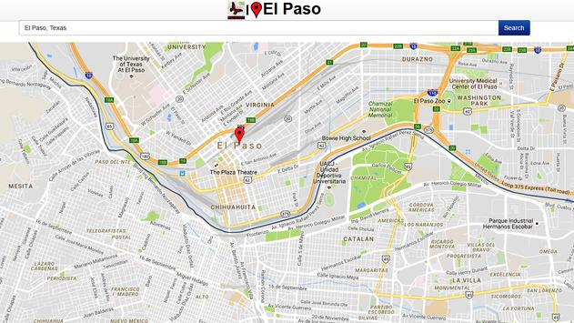 El Paso Map apk screenshot