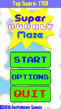 Super Bubbly Maze poster