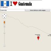 Guatemala City map icon
