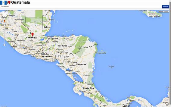 Guatemala City map apk screenshot