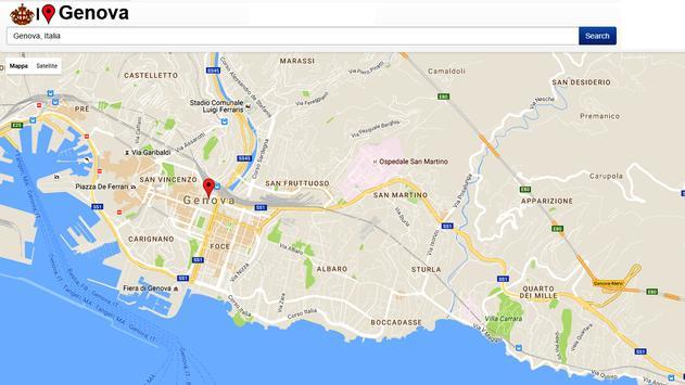 Genova Simply Map screenshot 1