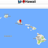 Hawaii Map icon