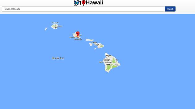 Hawaii Map apk screenshot
