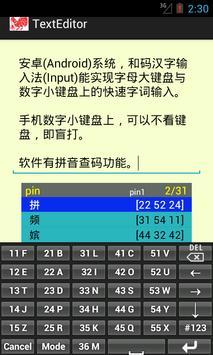 Chinese Input apk screenshot