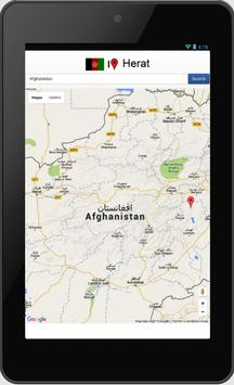 Herat map apk screenshot