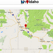 Idaho Map icon