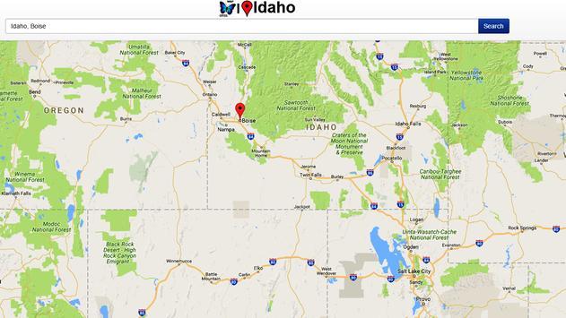 Idaho Map apk screenshot