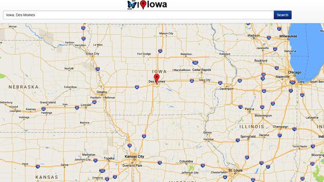 Iowa Map screenshot 3