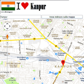 Kanpur map icon