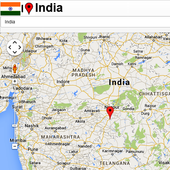 Ludhiana map icon