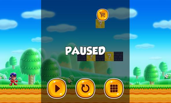 Free Super Ladybug Jump 2017 screenshot 2