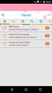 Hausa Radio Streaming poster