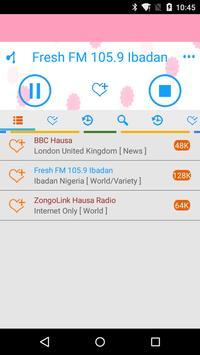 Hausa Radio Streaming apk screenshot