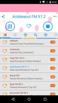 Romanian Radio Streaming apk screenshot