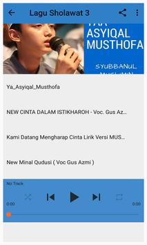 Lagu Sholawat Gus Azmi Mp3 apk screenshot
