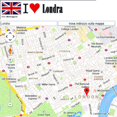 London map icon