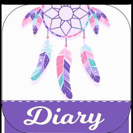 ✒️Secret Diary Dream Catcher Diary Theme