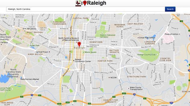 Raleigh Map screenshot 1