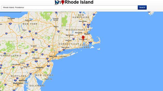 Rhode Island Map apk screenshot