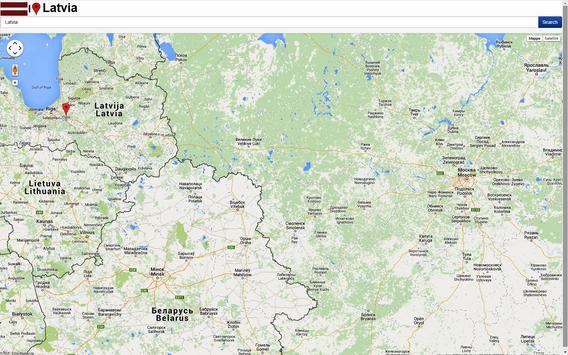 Riga map screenshot 2