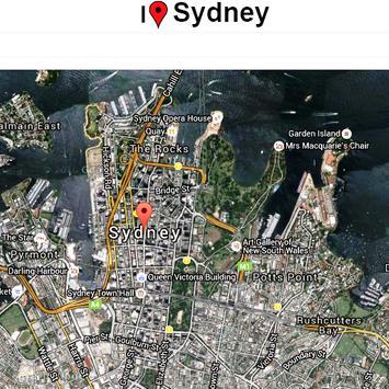 Sydney Map screenshot 1