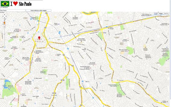 Sao Paulo map apk screenshot