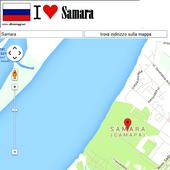 Samara map icon