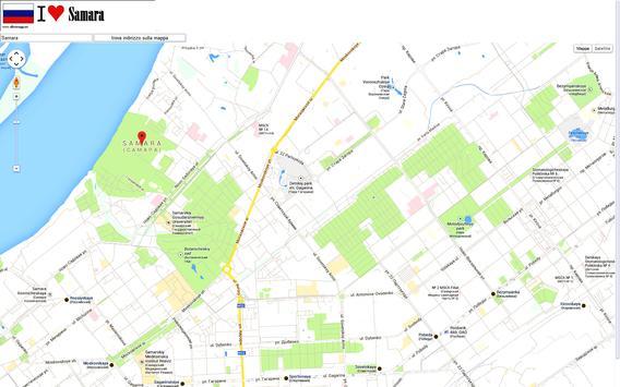 Samara map poster