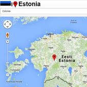 Tallinn map icon