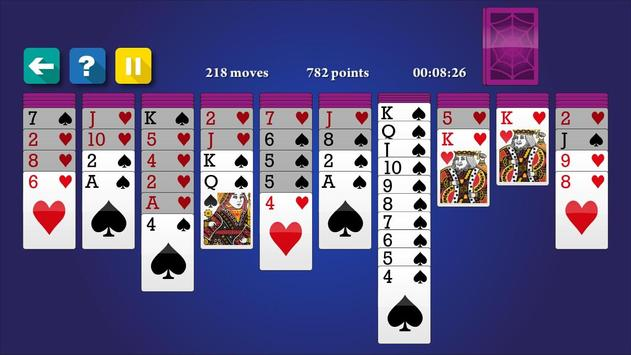 Spider Solitaire screenshot 2