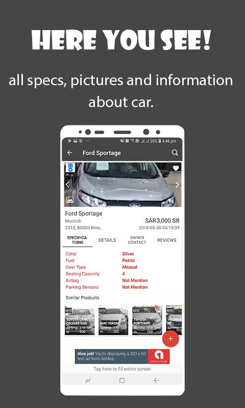 Used Cars Saudi Arabia for Android - APK Download