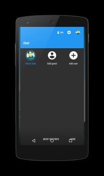 Maxterial X Blue CM12 Theme apk screenshot