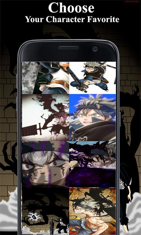 Wallpaper Black Clover Hd For Android Apk Download