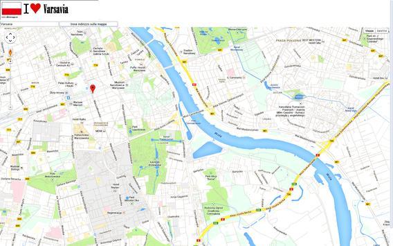 Warsaw map screenshot 1