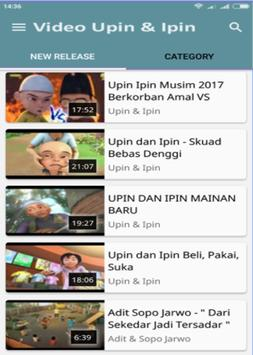 Film Upin+Ipin Terbaru 2018 screenshot 1