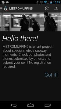 METROMUFFIN5 poster