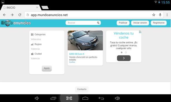 Mundo Anuncio Compra Venta screenshot 3