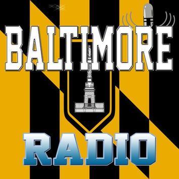 Baltimore - Radio poster