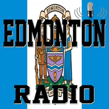 Edmonton - Radio poster