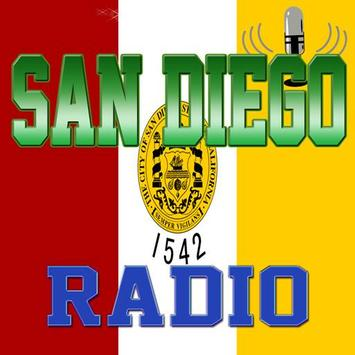 San Diego - Radio poster