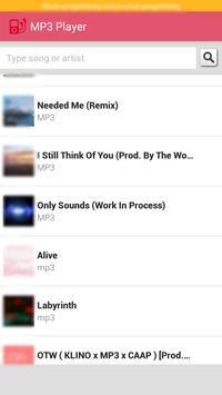 Ark Musica Player Mp3 apk screenshot