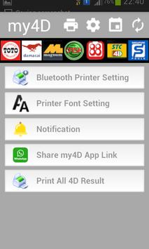 my4D apk screenshot