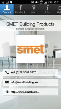 SMET Building Products poster