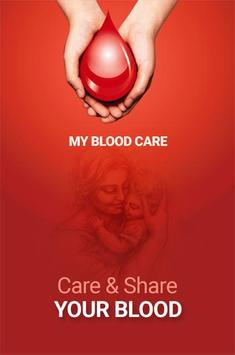 MY BLOOD CARE poster