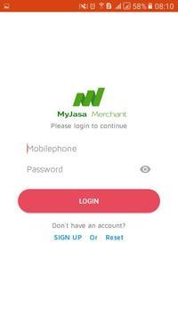 Merchant Myjasa screenshot 2