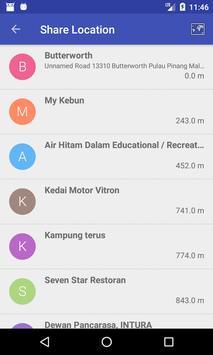 Send My GPS Location screenshot 1