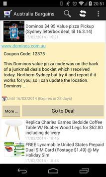 Oz Bargain apk screenshot
