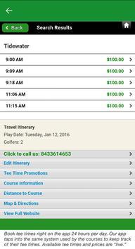Myrtle Beach Golf screenshot 3