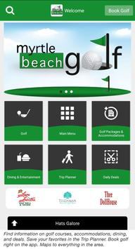 Myrtle Beach Golf poster