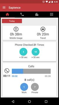 Auto Time Tracker - Sapience poster